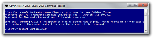 Administrator Visual Studio 2008 Command Prompt (2)